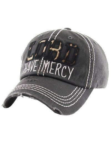 LORD Have Mercy Vintage Cap