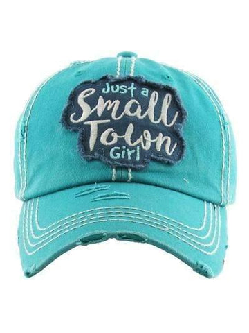 Just a Small Town Girl Vintage Cap