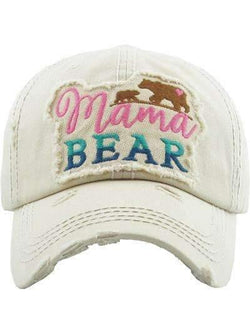 Mama Bear with Cub Vintage Cap