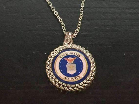Air Force Logo Necklace