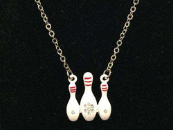 Bowling Pin Necklace