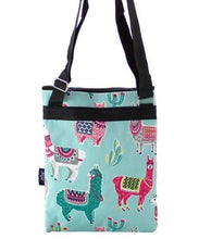 Load image into Gallery viewer, Mint Green Llama Cross Body Purse,travel bags