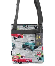 Load image into Gallery viewer, Old Trucks Print Cross Body Purse,travel bags
