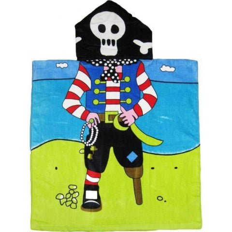 Pirate Hooded Beach or Bath Towel