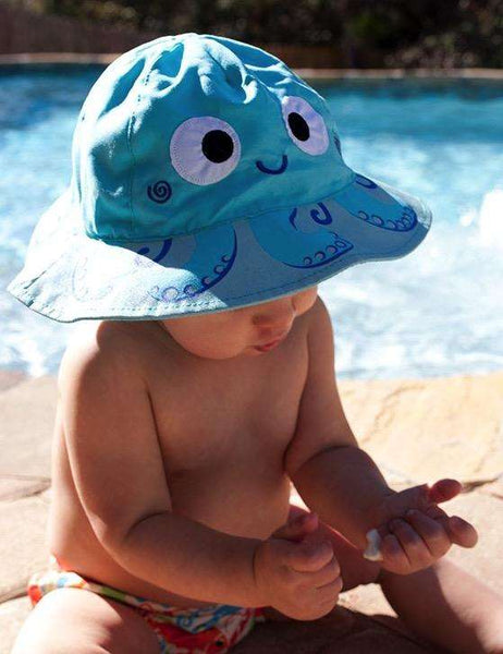Owie the Octopus Sun Hat for Children