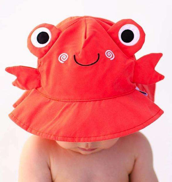 Charlie the Crab Sun Hat for Children