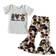 Peace Love Cows Pant Set for Kids