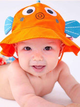 Load image into Gallery viewer, Sushi the Fish Sun Hat for Children