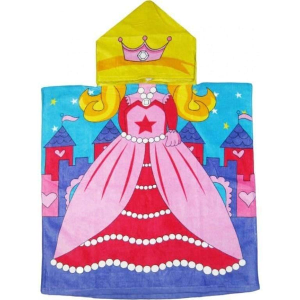 Princess Hooded Beach or Bath Towel