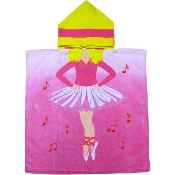 Ballerina Driver Hooded Beach or Bath Towel