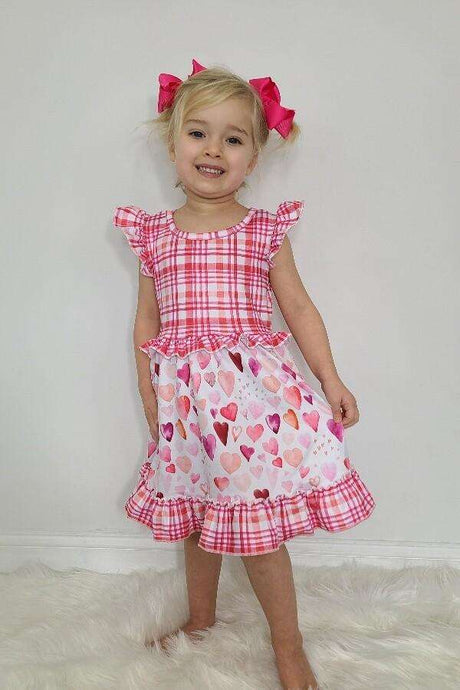 Valentine's Day Dress for Kids,Kids Clothes