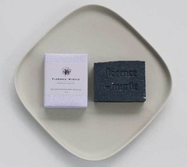 Florence + Myrtle  Activated Charcoal Detox Vegan Bar