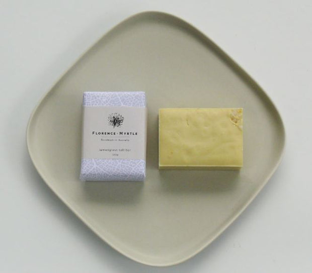 Florence + Myrtle  Lemon Grass Vegan Salt Bar