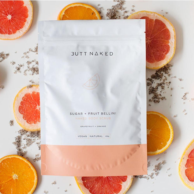 Butt Naked - Sugar + Fruit Bellini Body Scrub