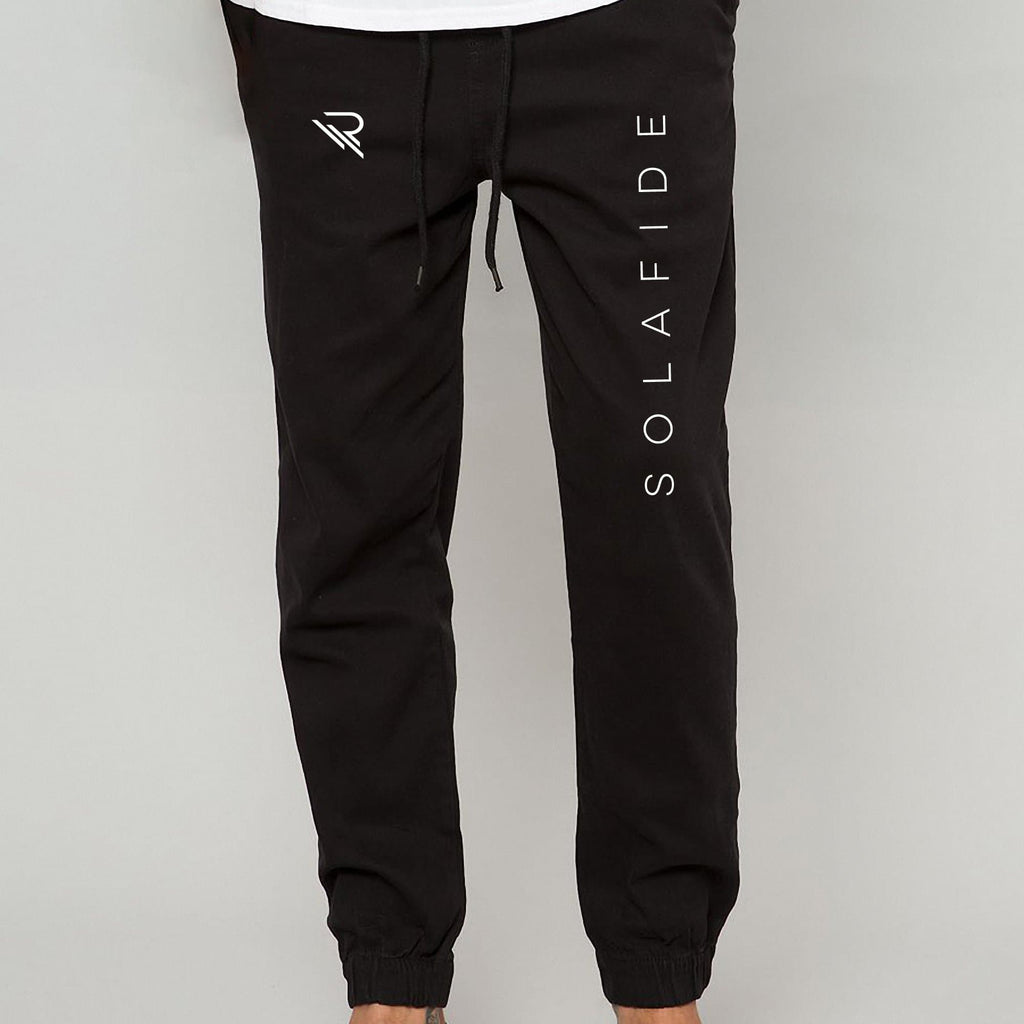 RVDN x SF Jogger Pants [Black] V1 - Riveting Division
