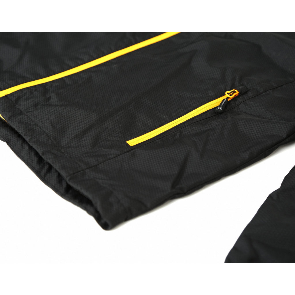 Stratos Jacket Shell [Black/Gold] - Riveting Division