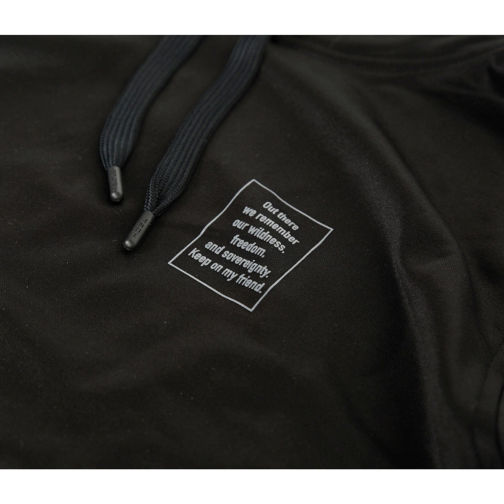 Cornerstone Hoodie [Black] - Riveting Division