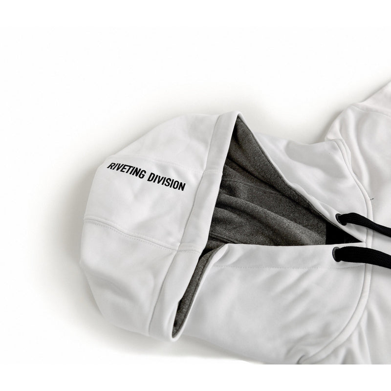 Stratos Hoodie [White] - Riveting Division