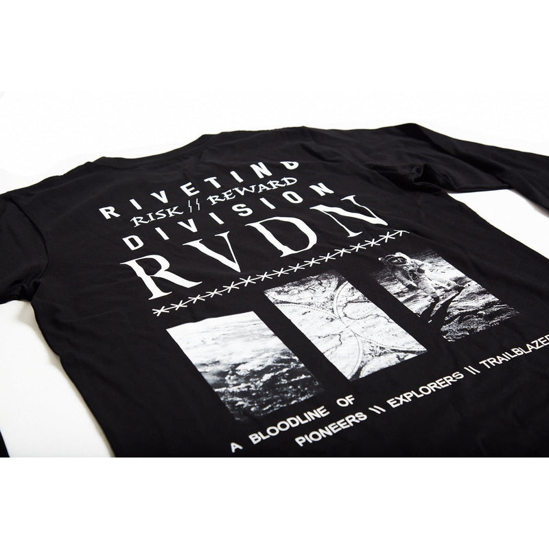 Risk & Reward Long Sleeve Tee [Black] - Riveting Division