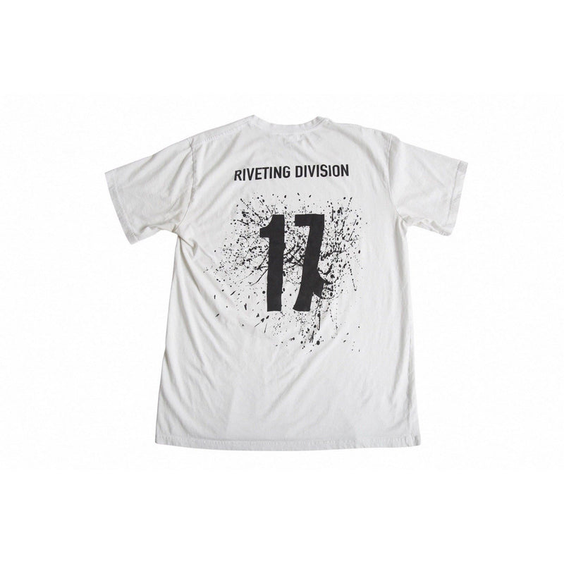 Founding Year Tee [White] - Riveting Division