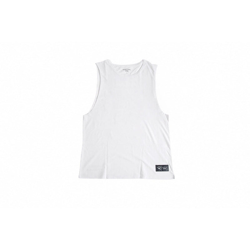 Drifter Tank [White] - Riveting Division