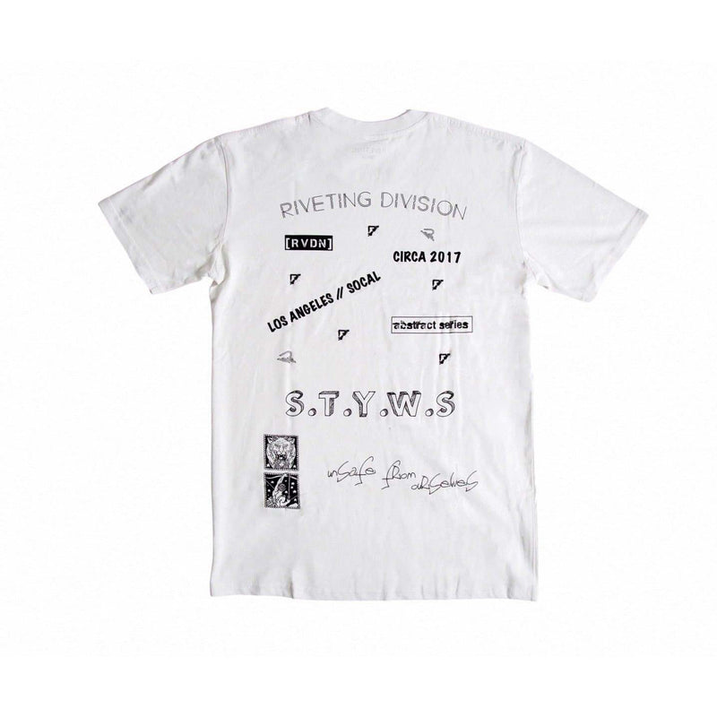 State of the Art Tee [White] - Riveting Division