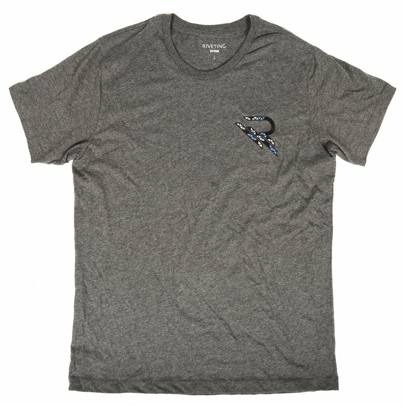 Astray Tee [Dark Grey] - Riveting Division