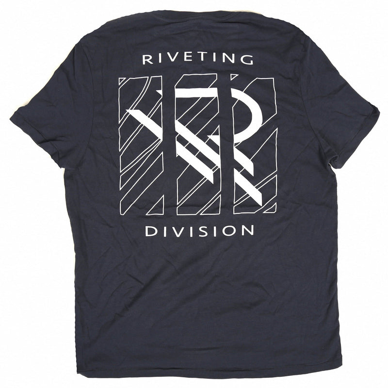 Astray Tee [Navy Blue] - Riveting Division