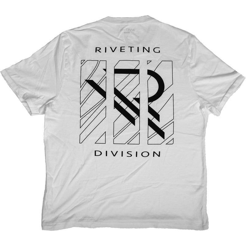 Astray Tee [White] - Riveting Division