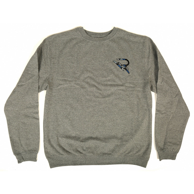 Astray Crewneck Sweatshirt [Dark Grey] - Riveting Division