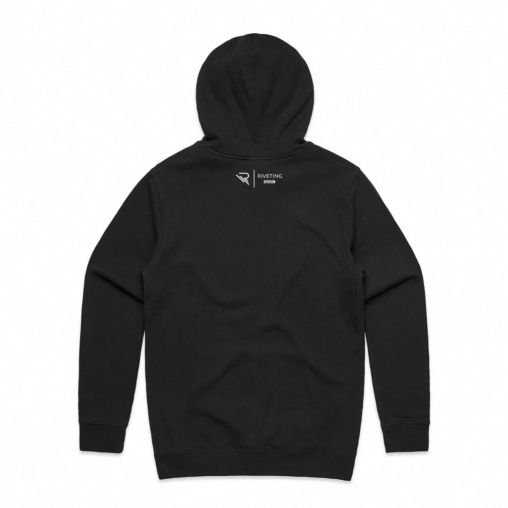 RVDN x SF Hoodie [Black] V1 - Riveting Division