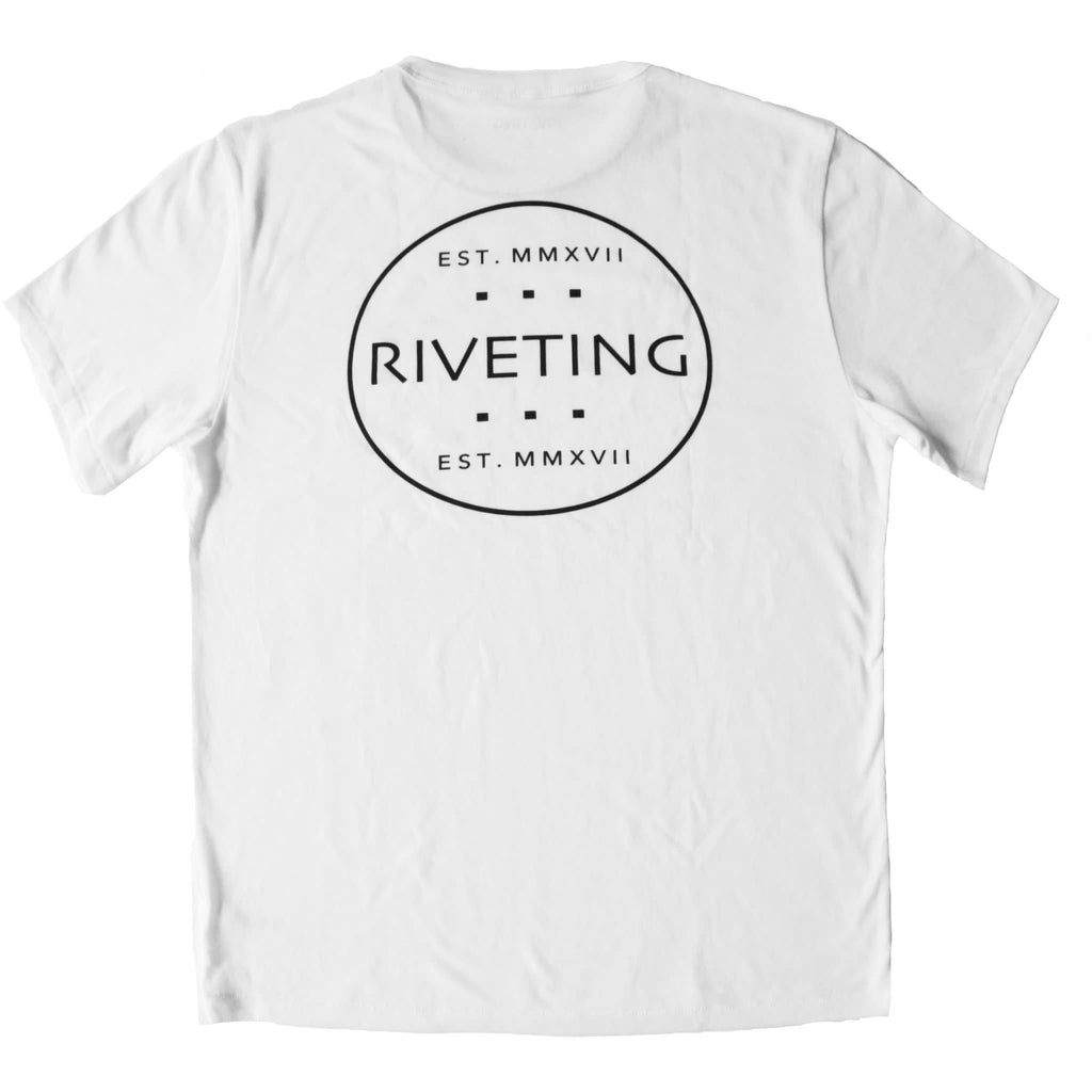 Original Tee [White] - Riveting Division