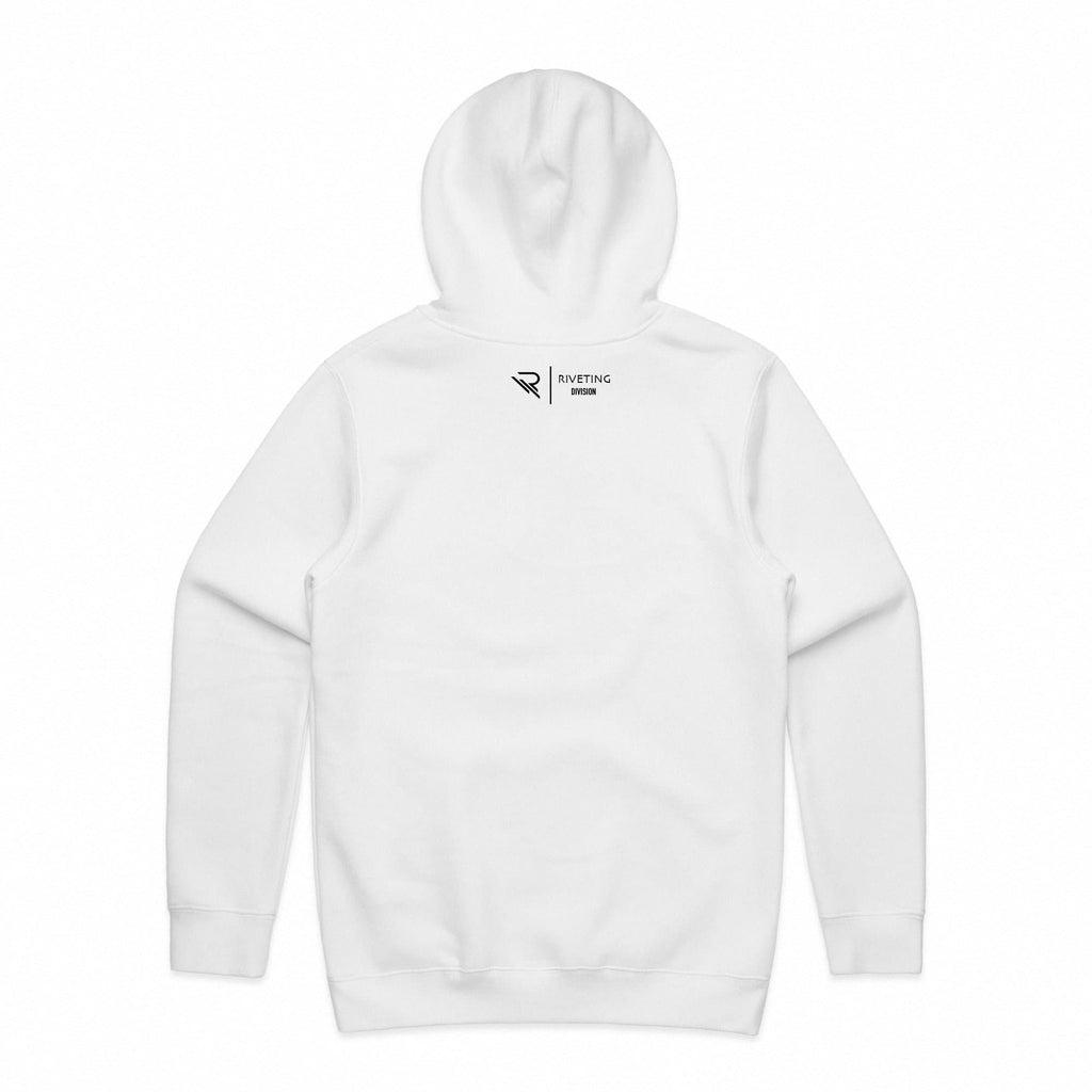 RVDN x SF Hoodie [White] V1 - Riveting Division
