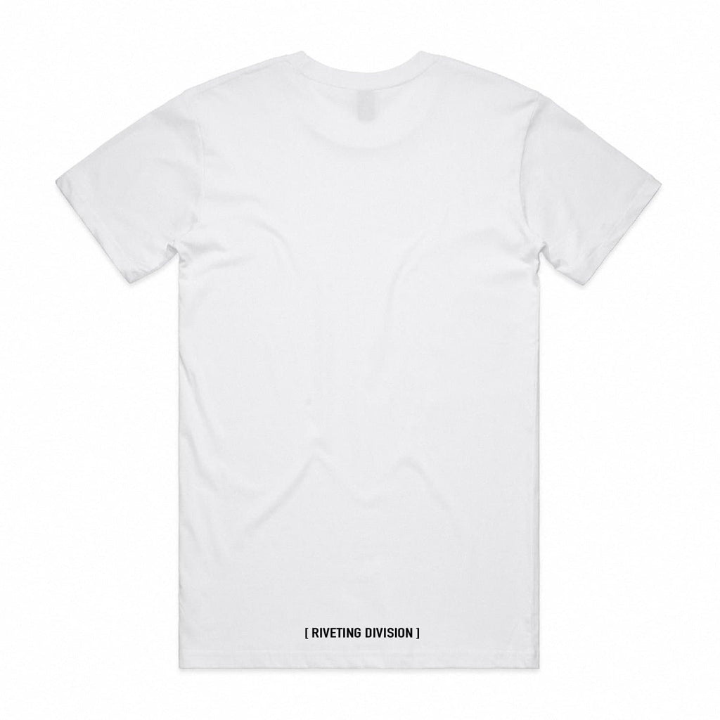 RVDN x SF Tee [White] V2 - Riveting Division