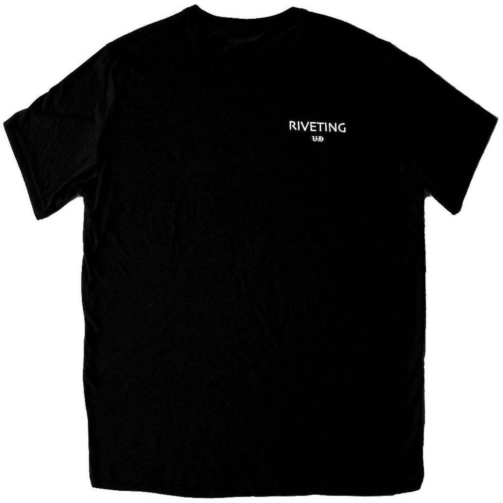 Classic Tee [Black] - Riveting Division
