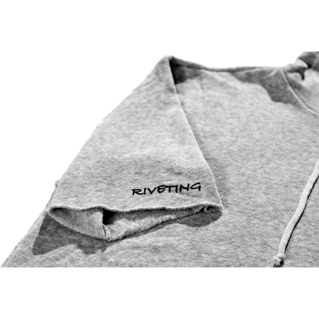 Original Hoodie [Light Grey] - Riveting Division