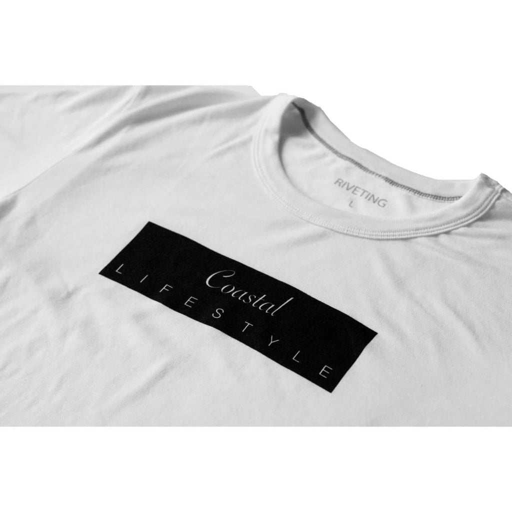 Coastal Tee [White] - Riveting Division