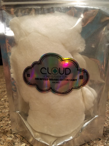 CBD Infused Cotton Candy
