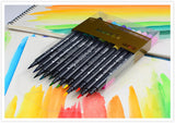 36 Rich Colors! Twin Tip Brush & Round Tip Marker Pens
