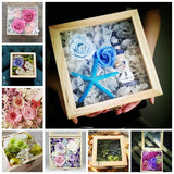Deluxe Hinged Top Natural Wood Shadow Boxes-Seven Size Combinations