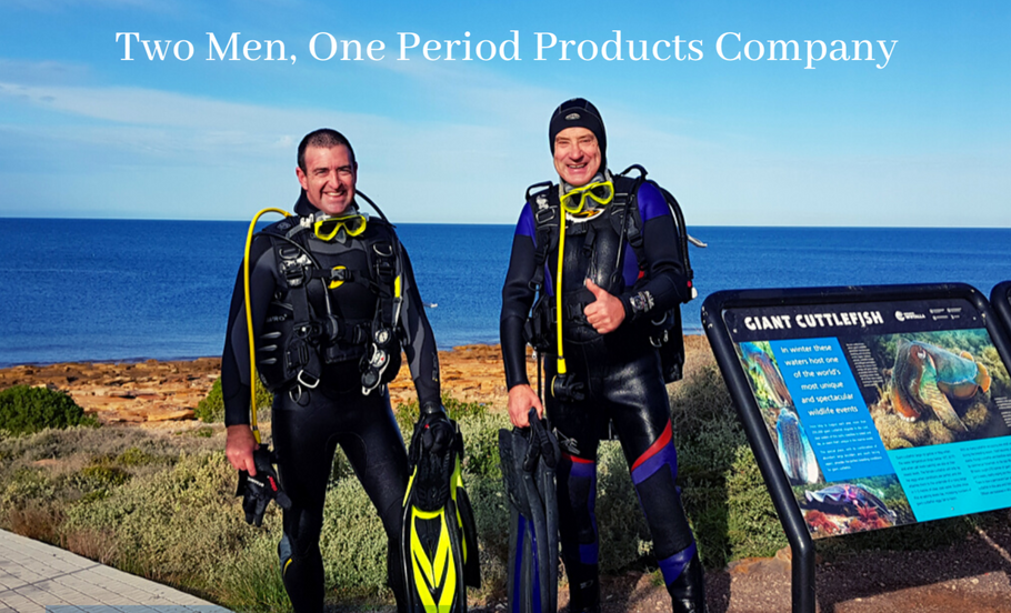 The Business Collection Feature - Two Men, One Period Products Company