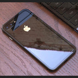 High Grade Frame and Glass Back Case for iPhone