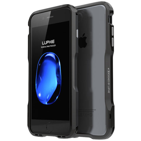 Luxury Metal Frame Bumper Case for iPhone
