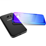 Transparent Color-Ray Samsung Galaxy 7, 7 Edge, 8 & 8Plus