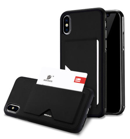 Executive PU Leather Card Case for iPhone X