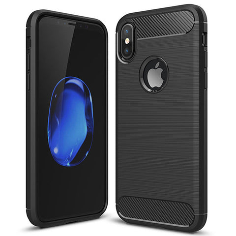 Iconic Style iPhone X Silicon Protective Case