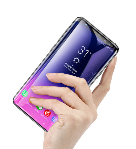 Ultra Thin Full Coverage Tempered Glass For Samsung S9 and S9 Plus