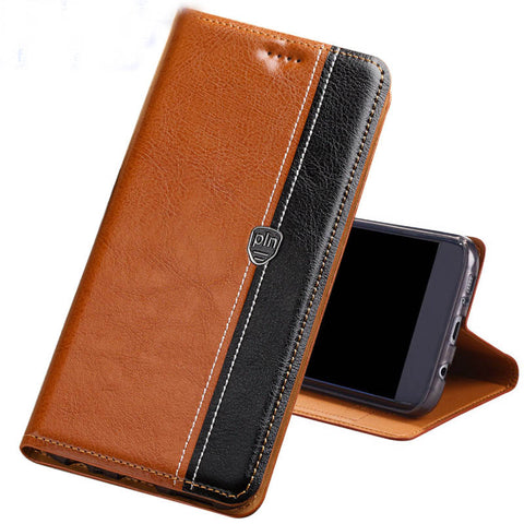 Wallet Style Leather Phone Case For Samsung S9, S9 Plus