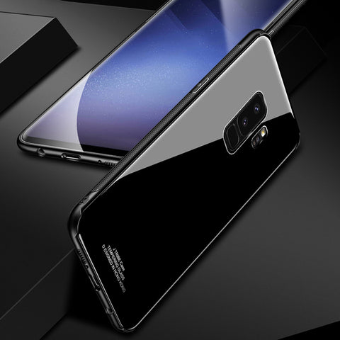 Tempered Glass Hard Case