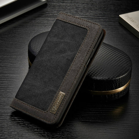 Leather Wallet Phone Case With Card Holder For Samsung Galaxy Note 8